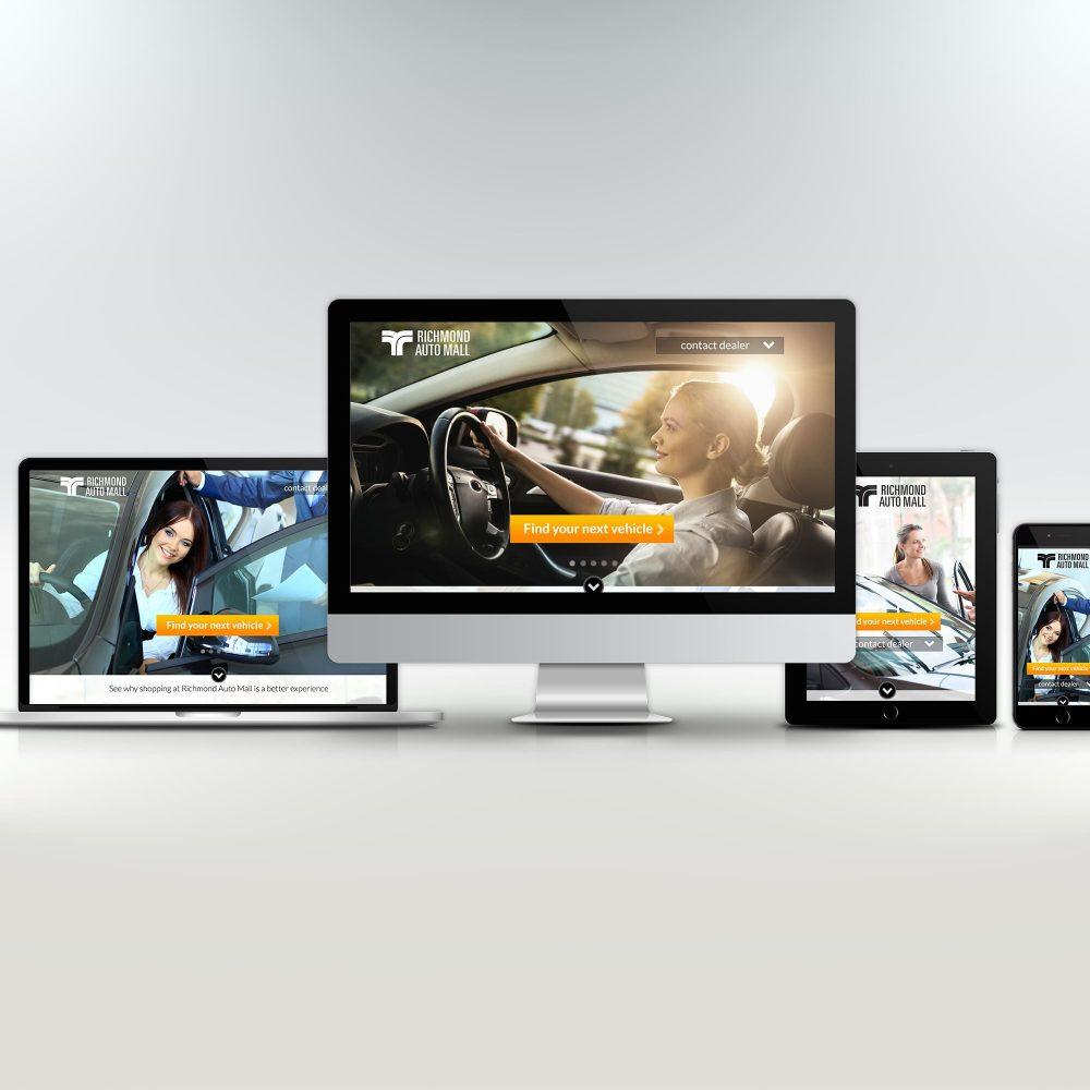 Richmond Auto Mall Web Design