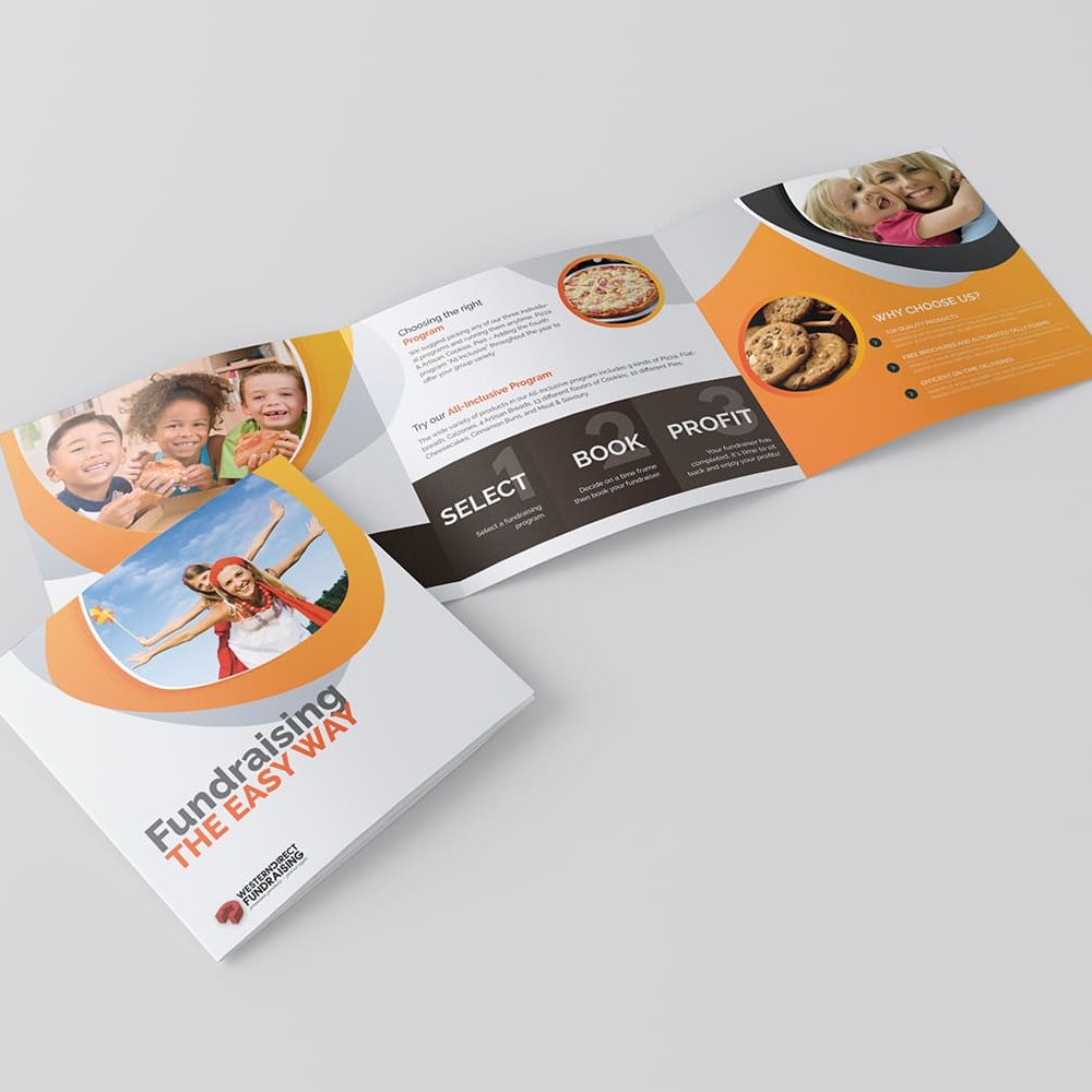 Brochure Design Mail out 3 panel
