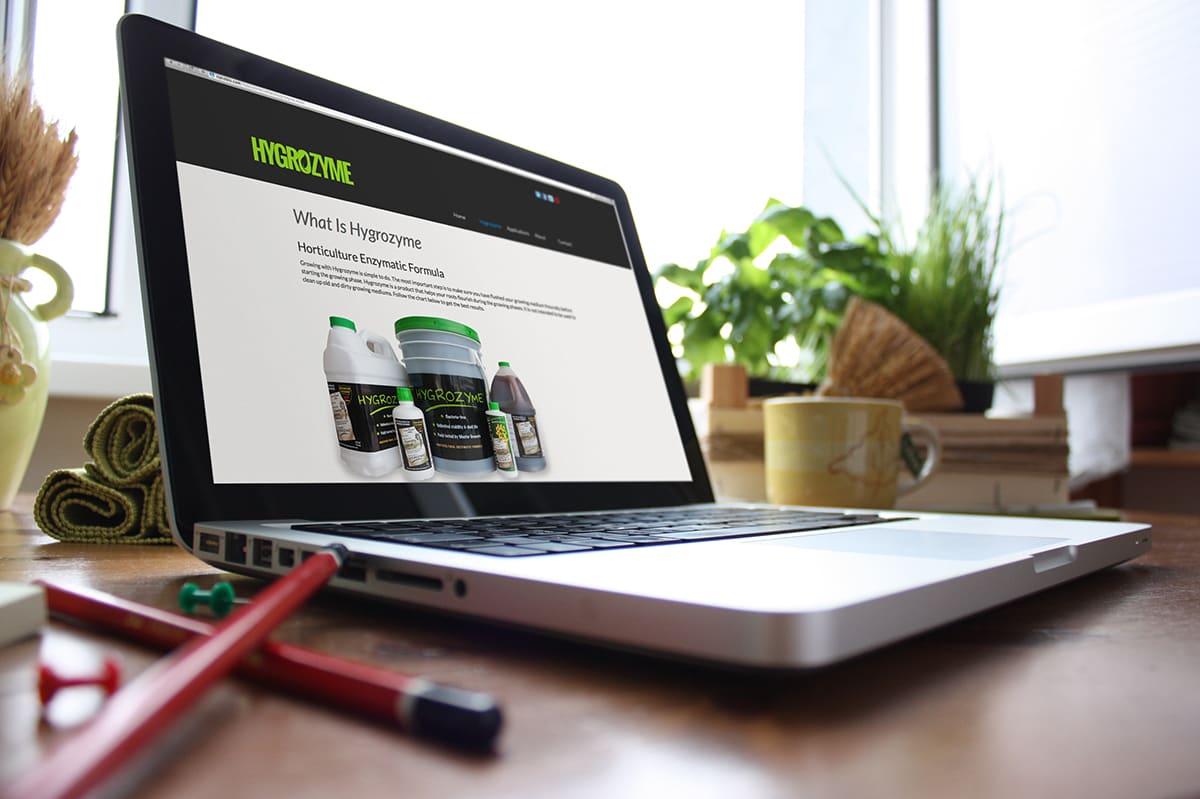 Website design for agriculture industry