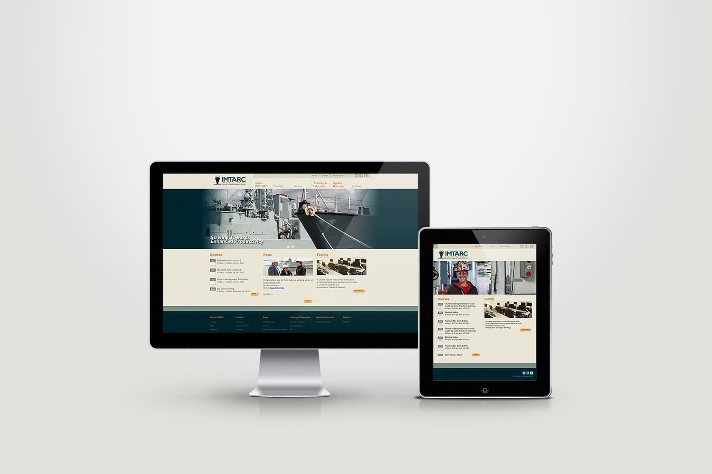 Website design for training company