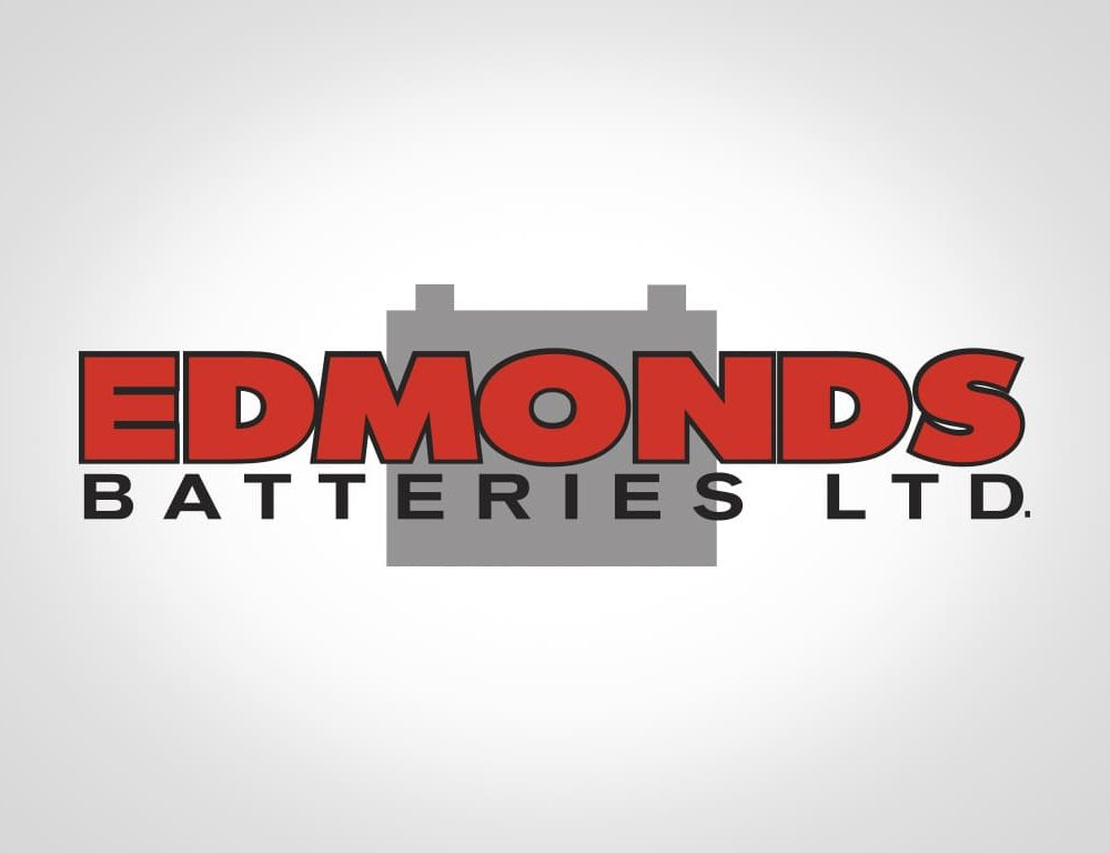 Logo Design for company edmonds batteries