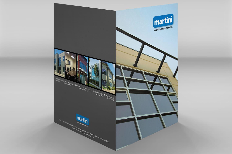 Folder Design for construction industry