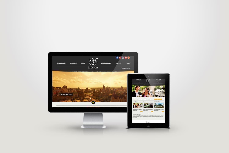 Website design tourism industry