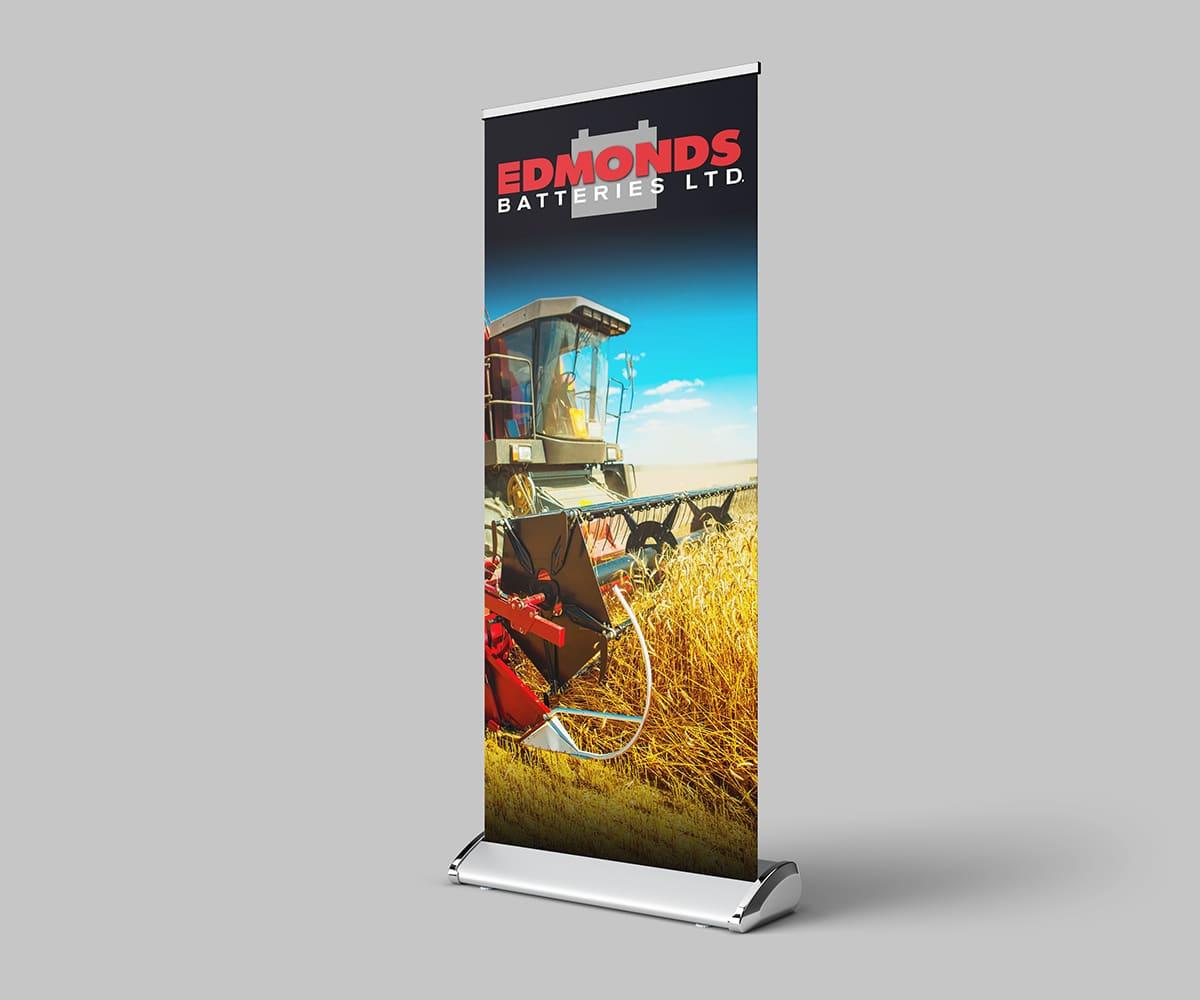 Trade show banner pop-up