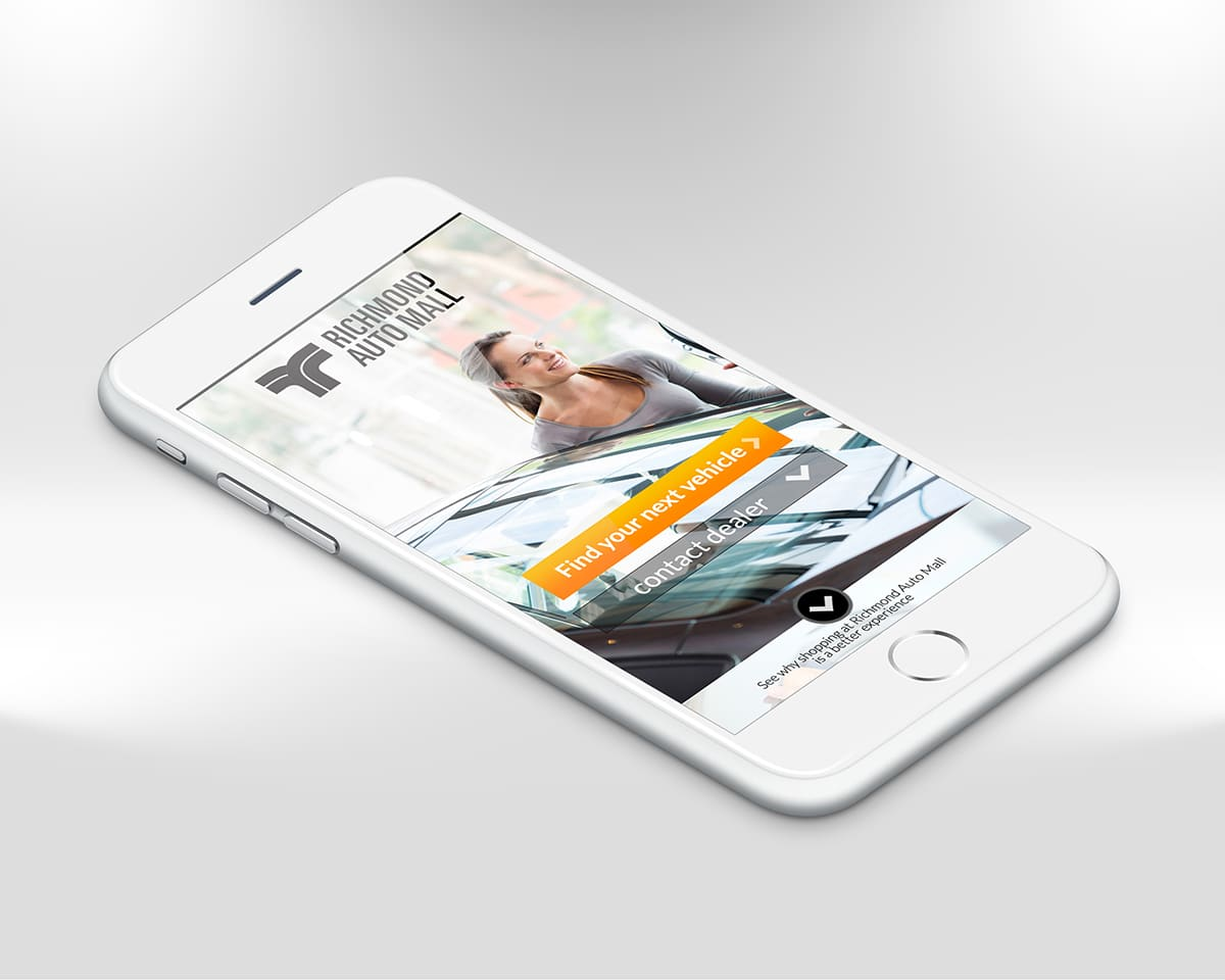 Website design responsive mobile