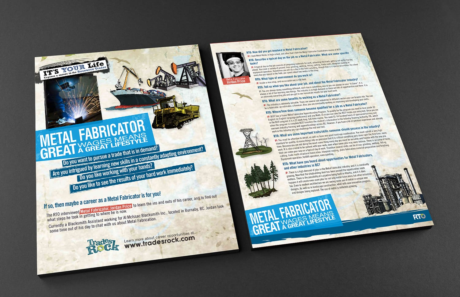 Brochure Design double sided
