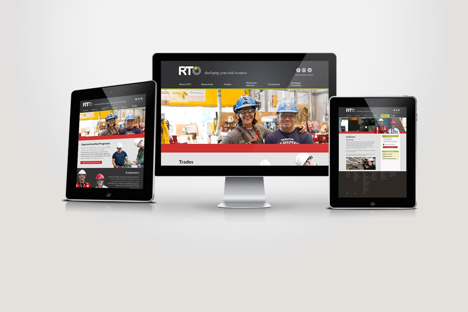 Website design for local langley company