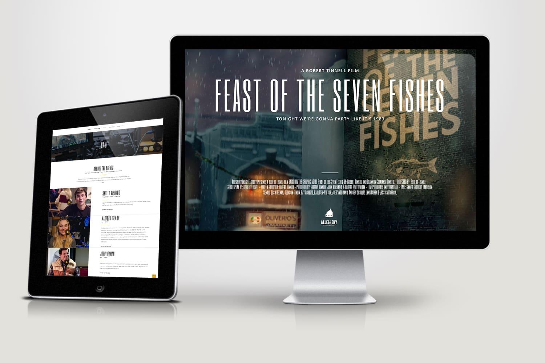 Web site design for movie company